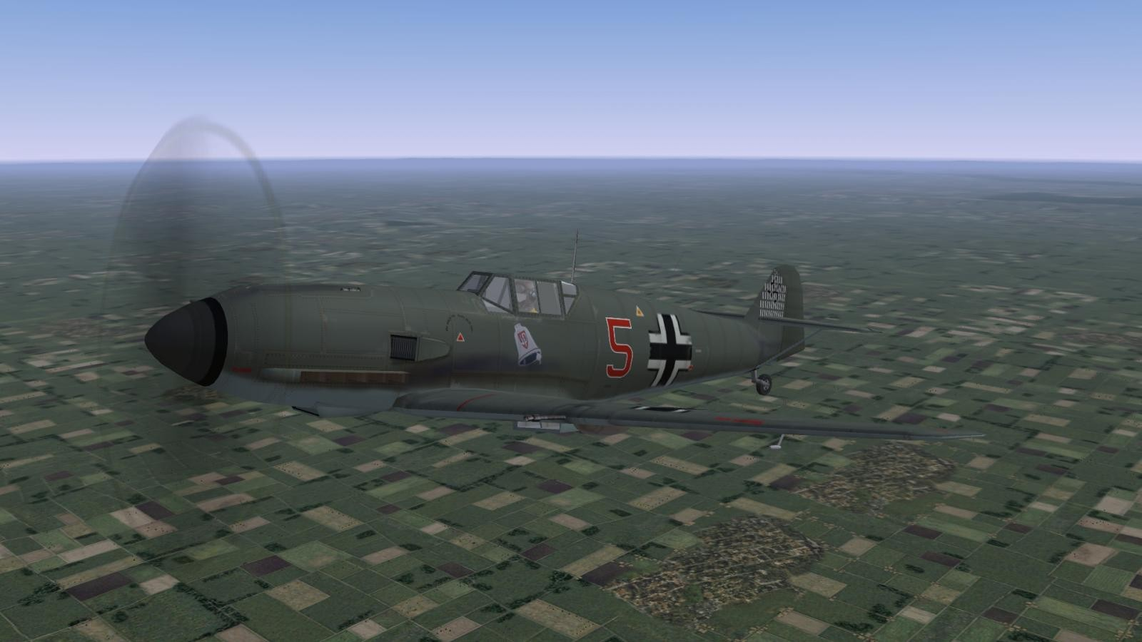 Bf 109 E-1, II./JG 3, 1939/40 (new Model)