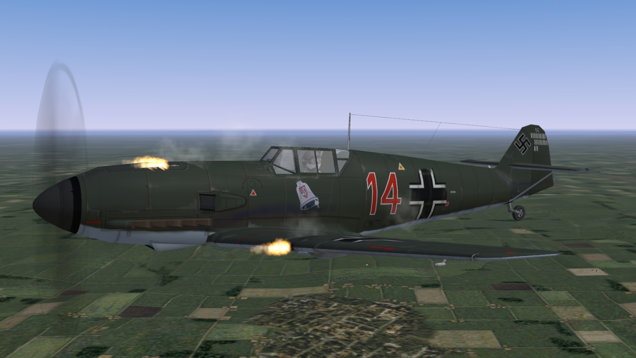 New Bf109 E-1 without cannons!