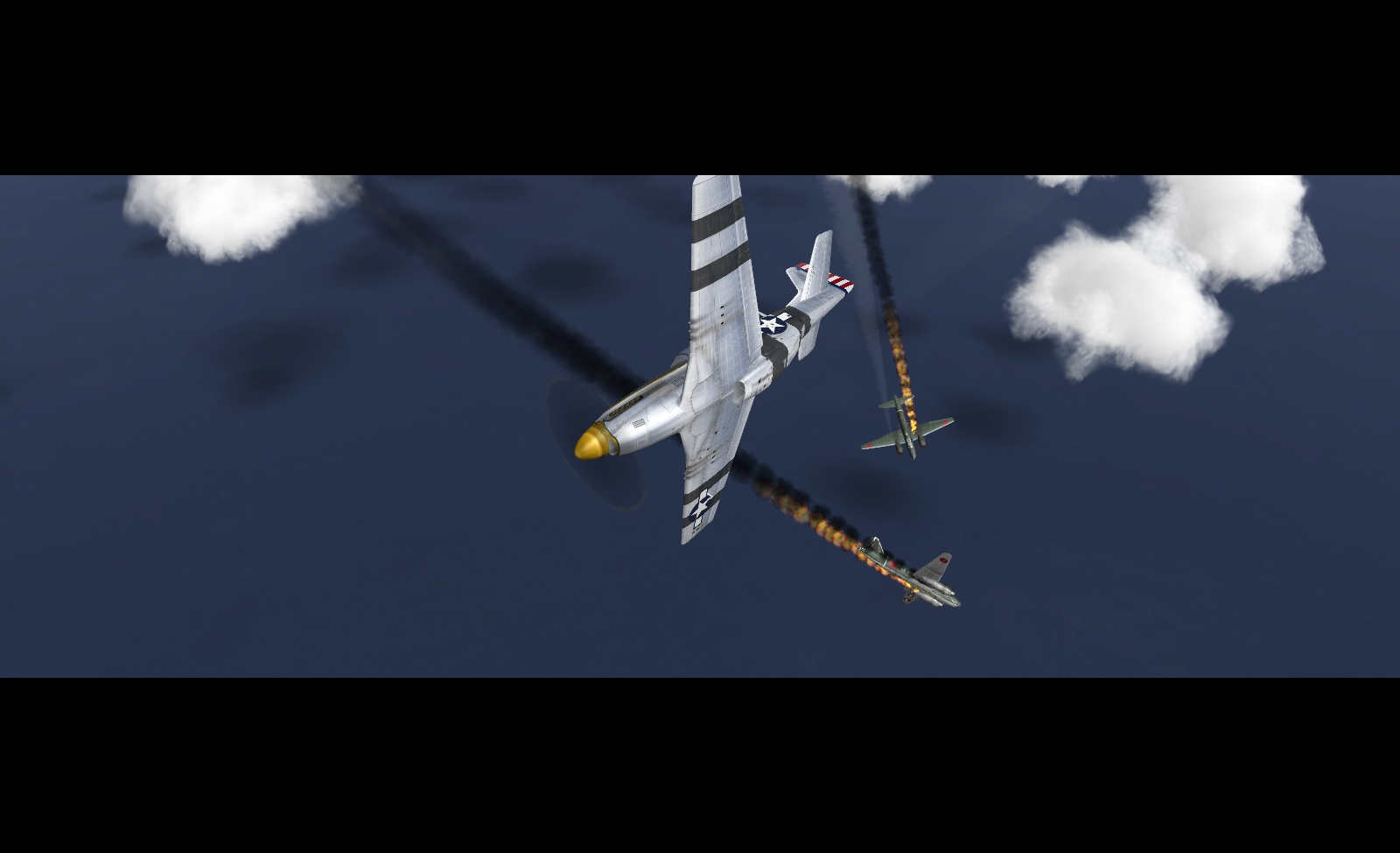 An instant of P-51 PTO Mission Pack: Mission 5: Scramble
