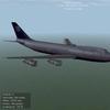 B747 UA SKIN