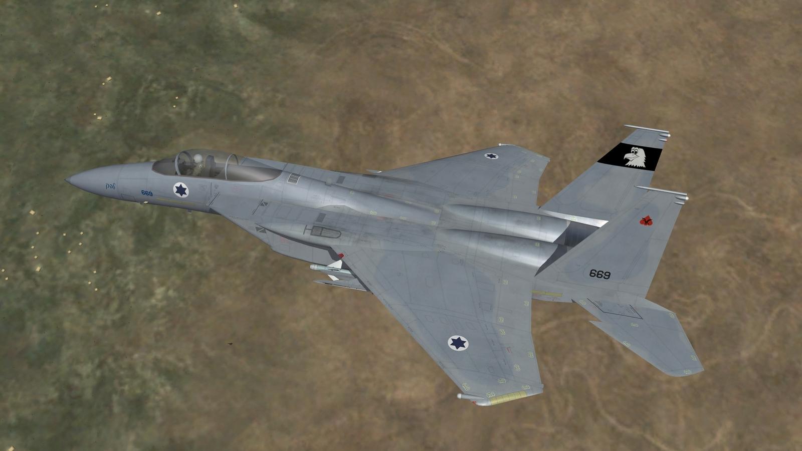 F-15A Baz of 133 Sqn