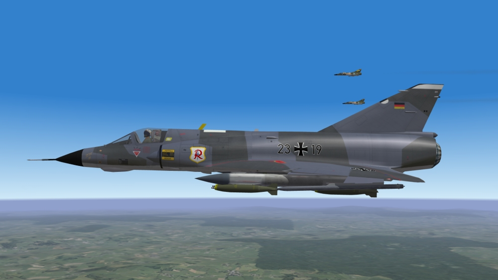 mirage IIIEG for Germany (step 2) 3