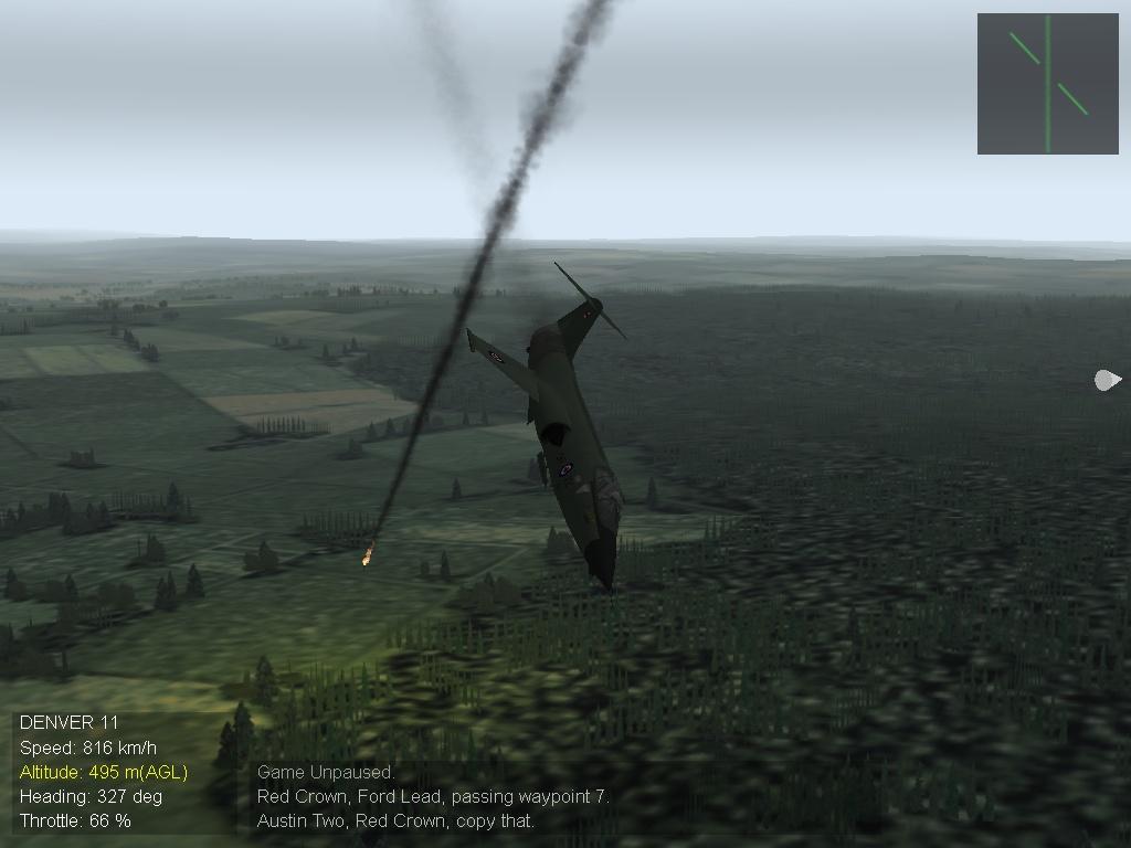 Mig kill in CF104