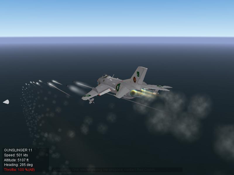 Pakistan Air Force F-6 On Ground Training