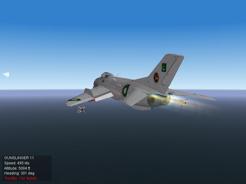 Pakistan Air Force F-6 Near Karachi