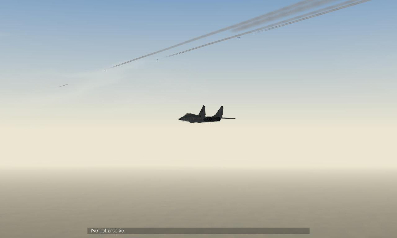 Iraqi mig-29 huntin' my flight of B-52's.JPG