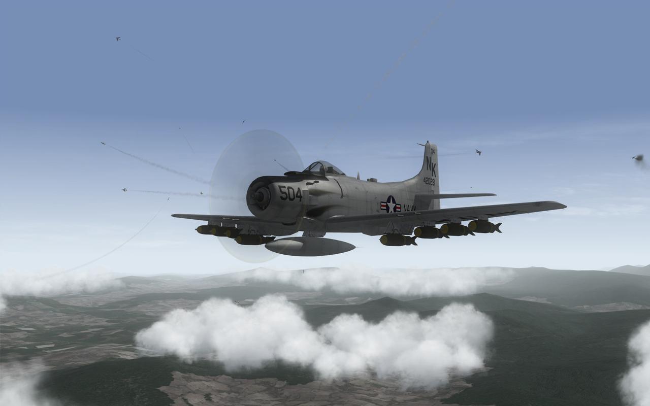 skyraider on the way