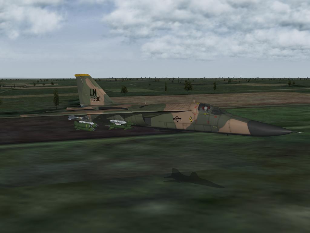 F-111 Grim Reaper down in the weeds.JPG
