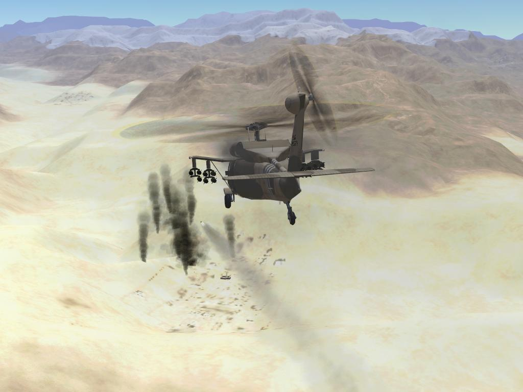 mh-60x super pavehawk fires hellfire at Taliban fuel trucks.JPG