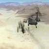 mh-60x super pavehawk fires hellfire at Taliban fuel trucks.JPG