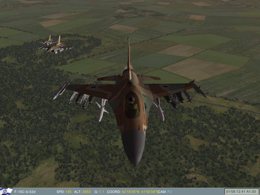 Israeli F-16's after takeoff.JPG