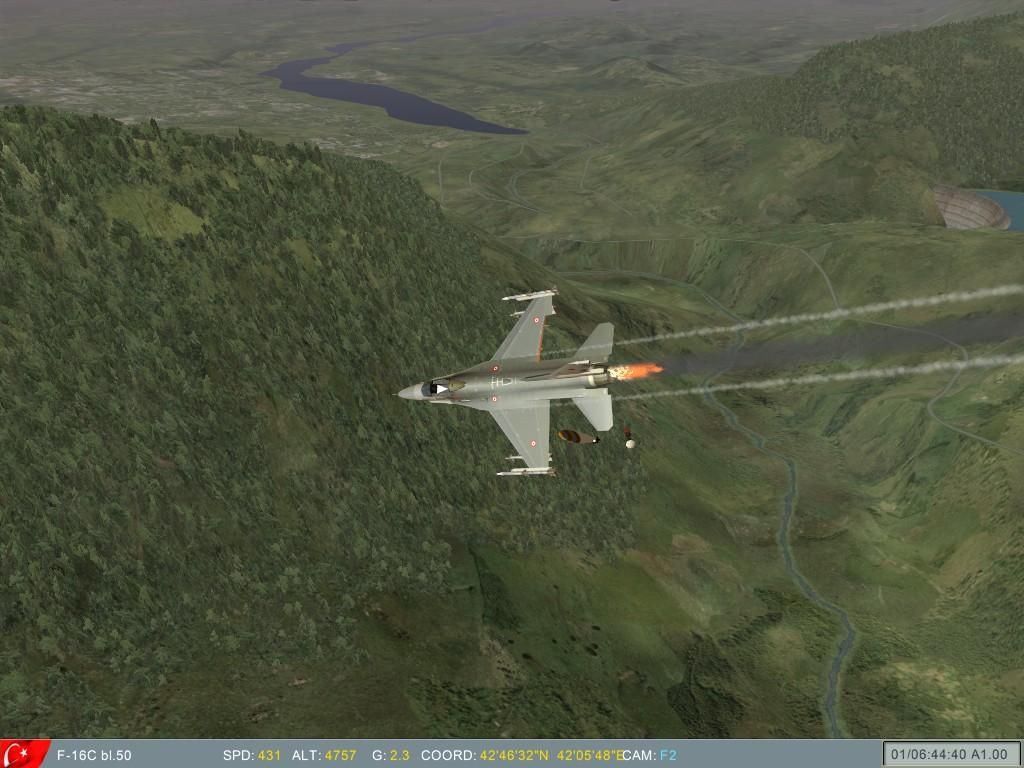 ...and is hit and pilot bails out over enemy territory.JPG