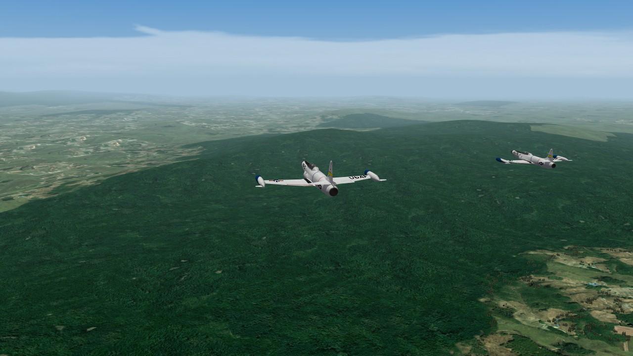F-94Bs Korea