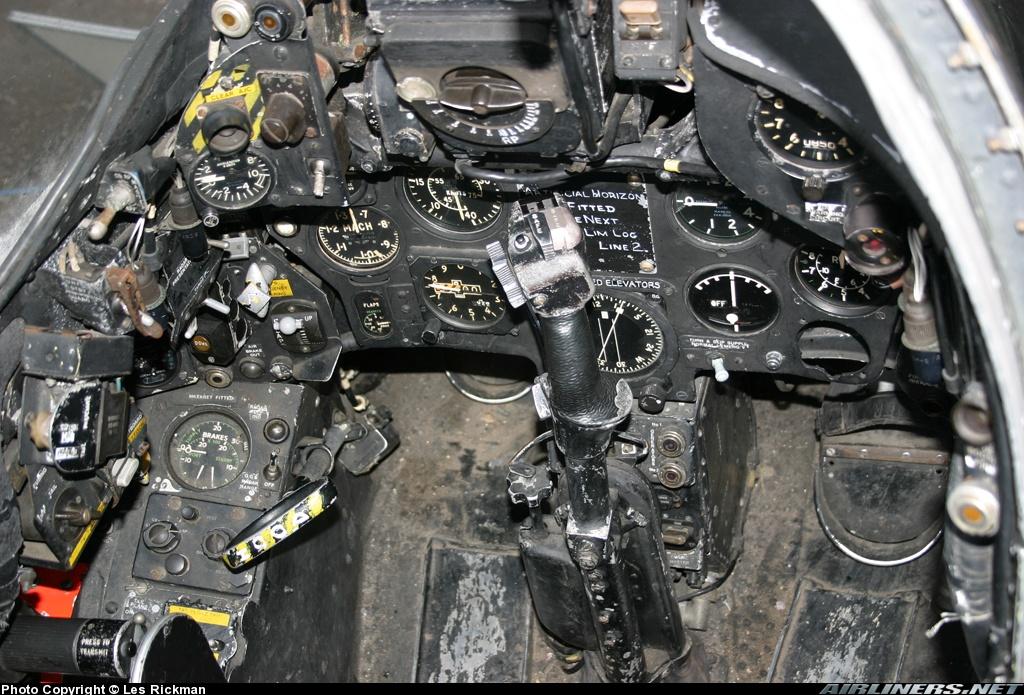 Hunter cockpit