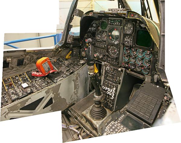 A-10 Warhawk cockpit