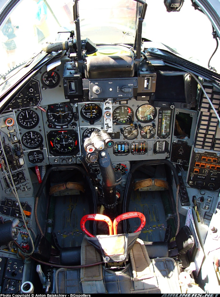 Mig-29 Fulcrum cockpit - Member's Albums - CombatACE