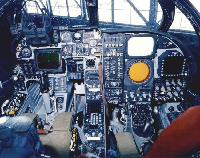 A-6E Intruder cockpit