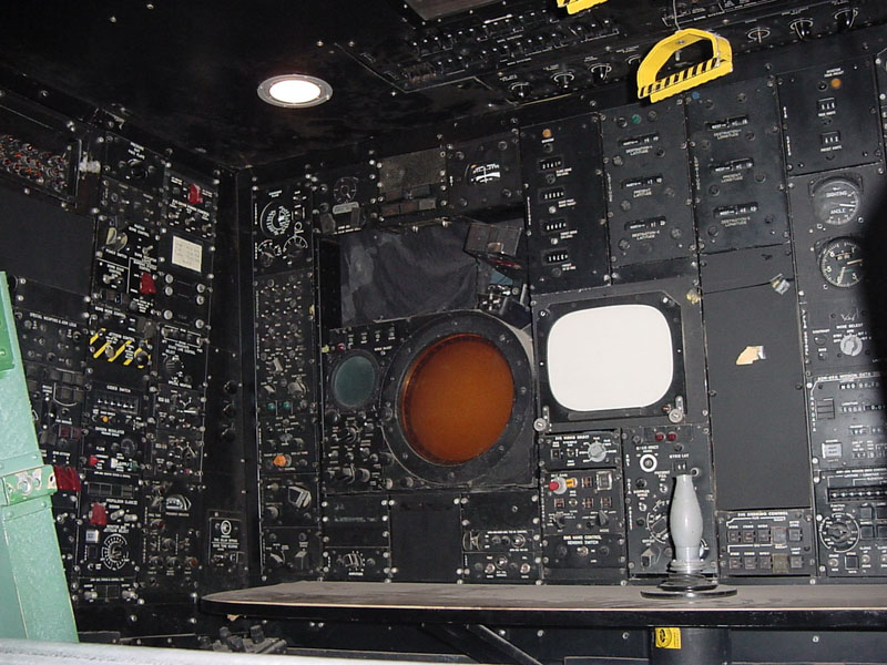 B-52g Stratofortress EWN panel