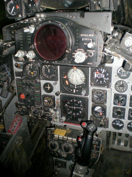 F-4 Phantom II pilot cockpit