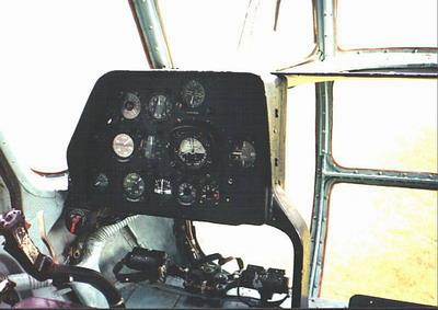 Mi-8 Hip cockpit