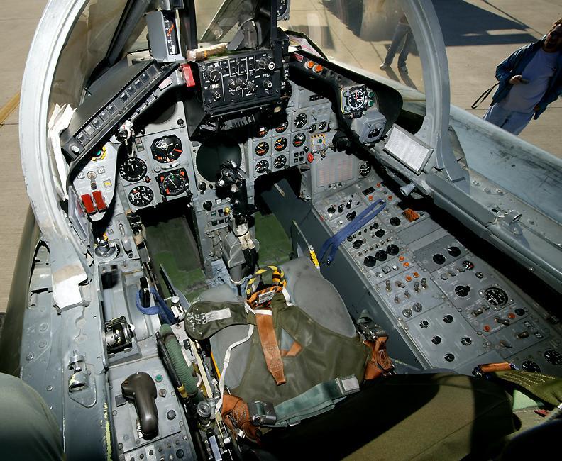 Panavia Tornado cockpit