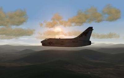 Corsair at Dawn