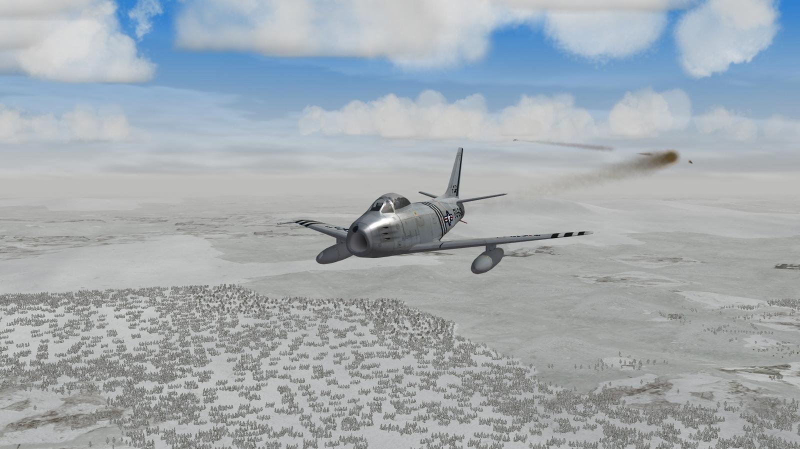 Sabre Lorean Winter Flyover