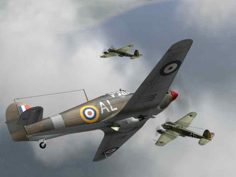 Hawker Hurricane Mk I / Battle of Britain.