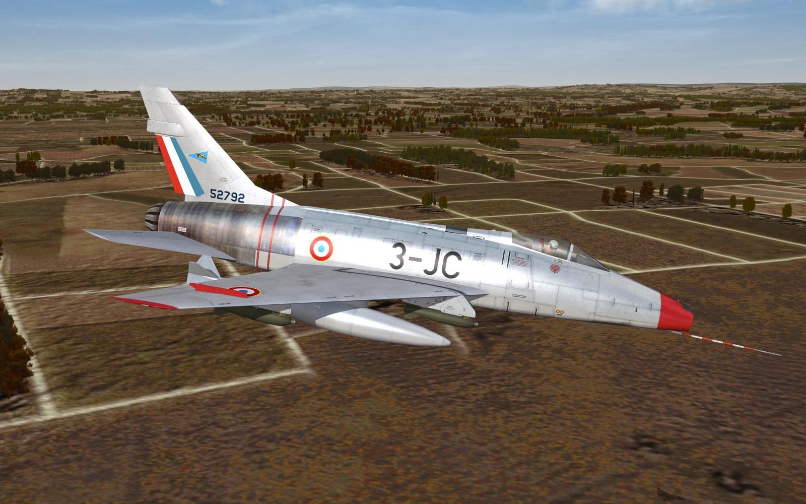 F-100D - EC 2/3 Champagne - ca. 1962
