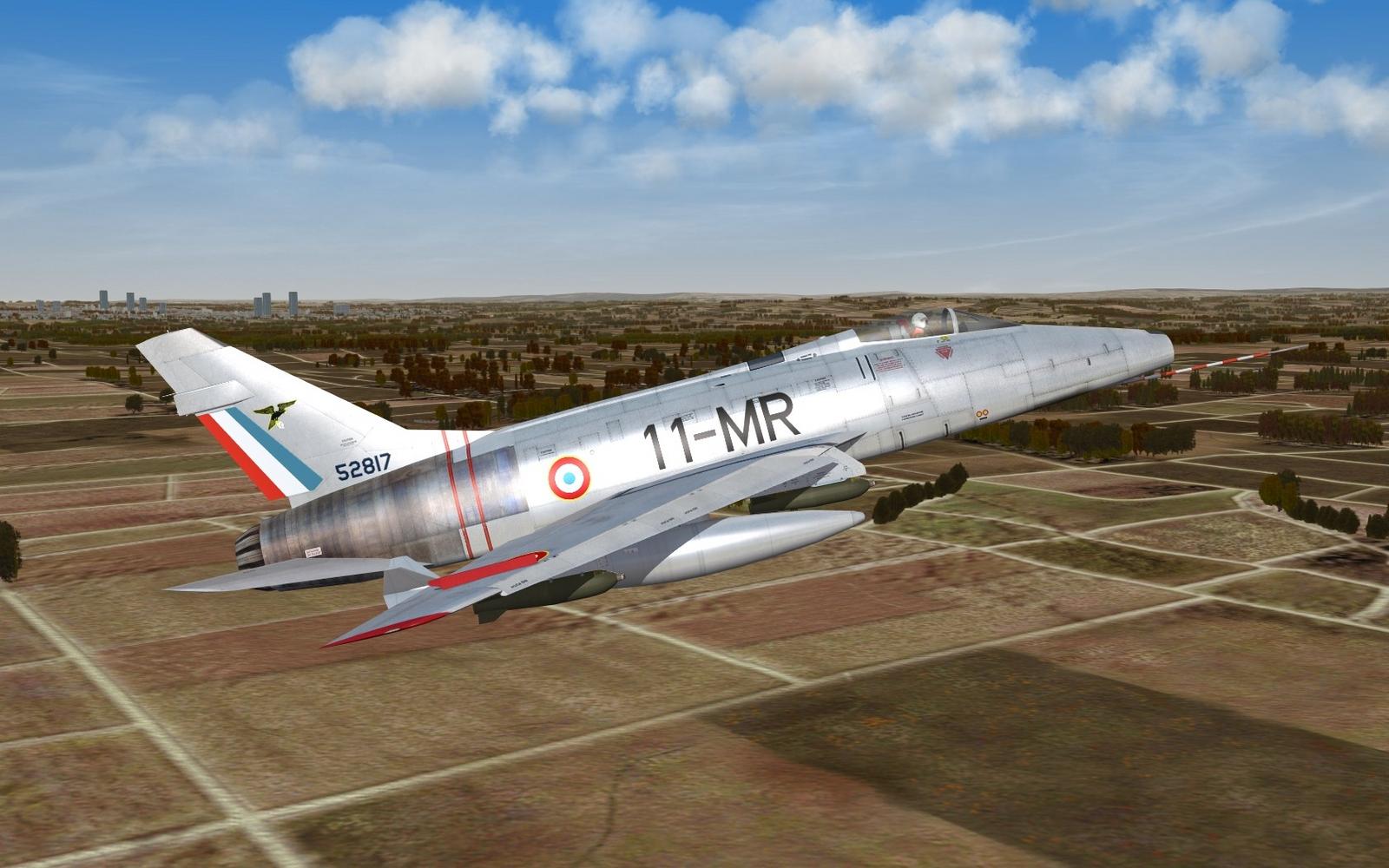 F-100D - EC 2/11 Vosges - ca. 1962