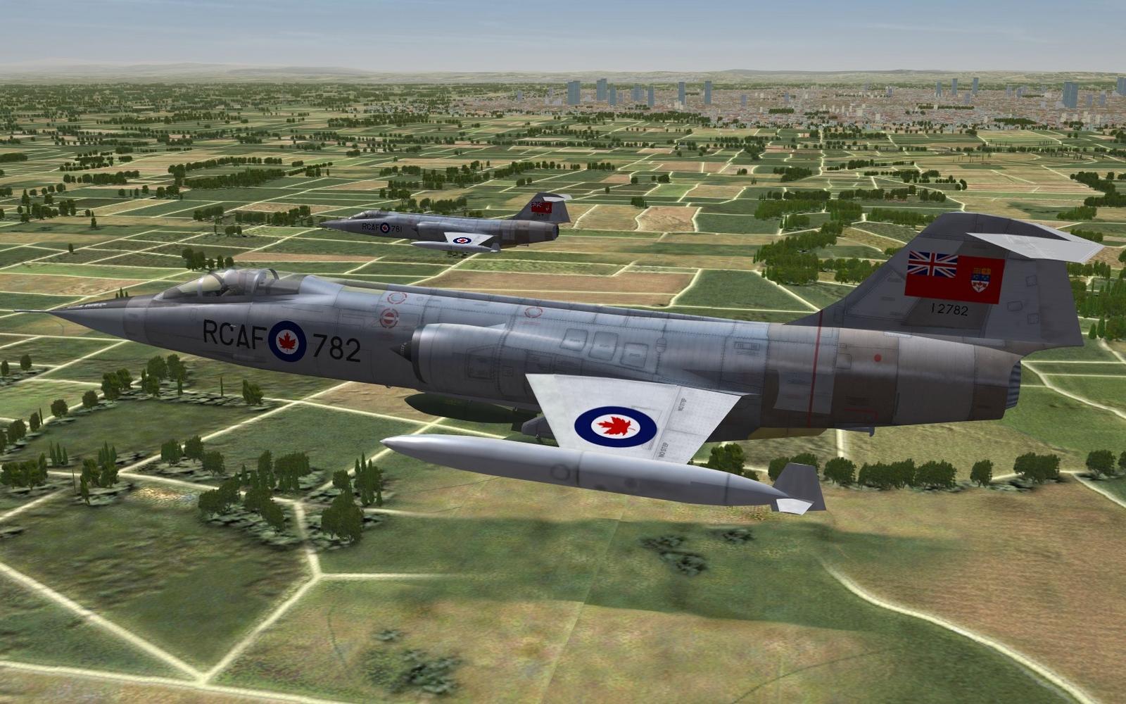 CF-104 - Generic RCAF skin - ca. 1962