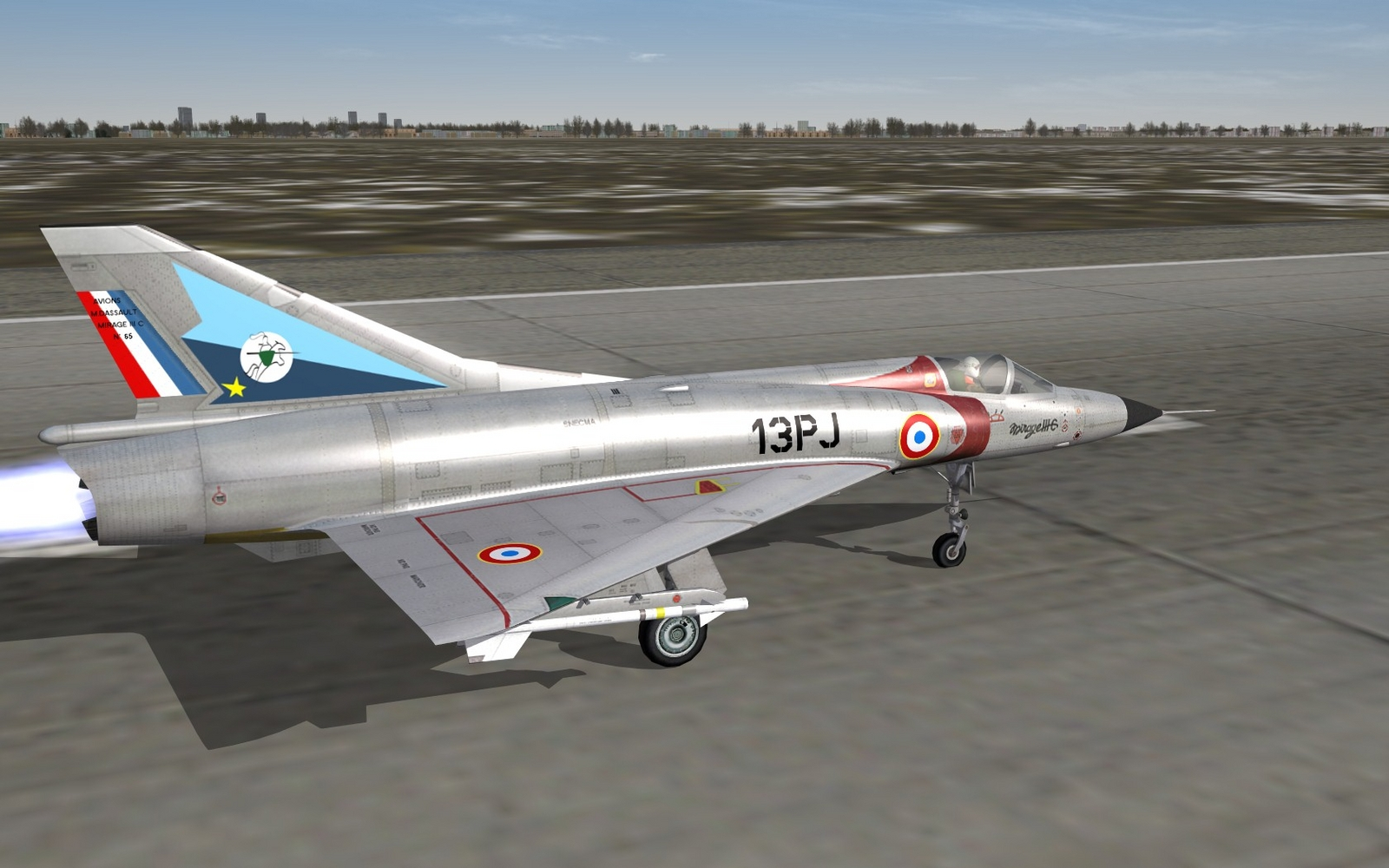 Mirage IIIC - EC 2/13 Alpes - ca. 1962