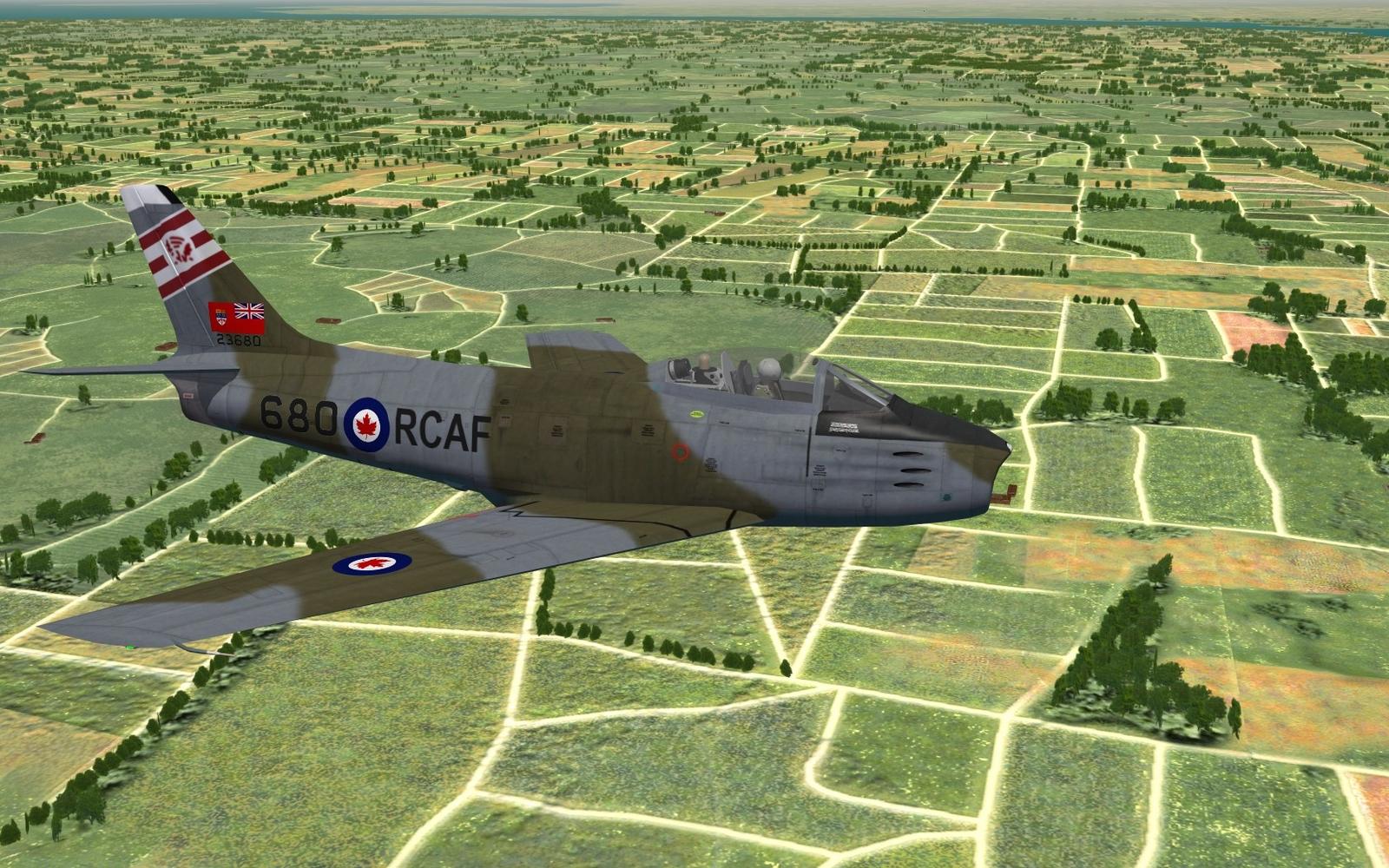 """Sabre Mk.6 - 421 Sqn """"Red Indian"""" - ca. 1962"""