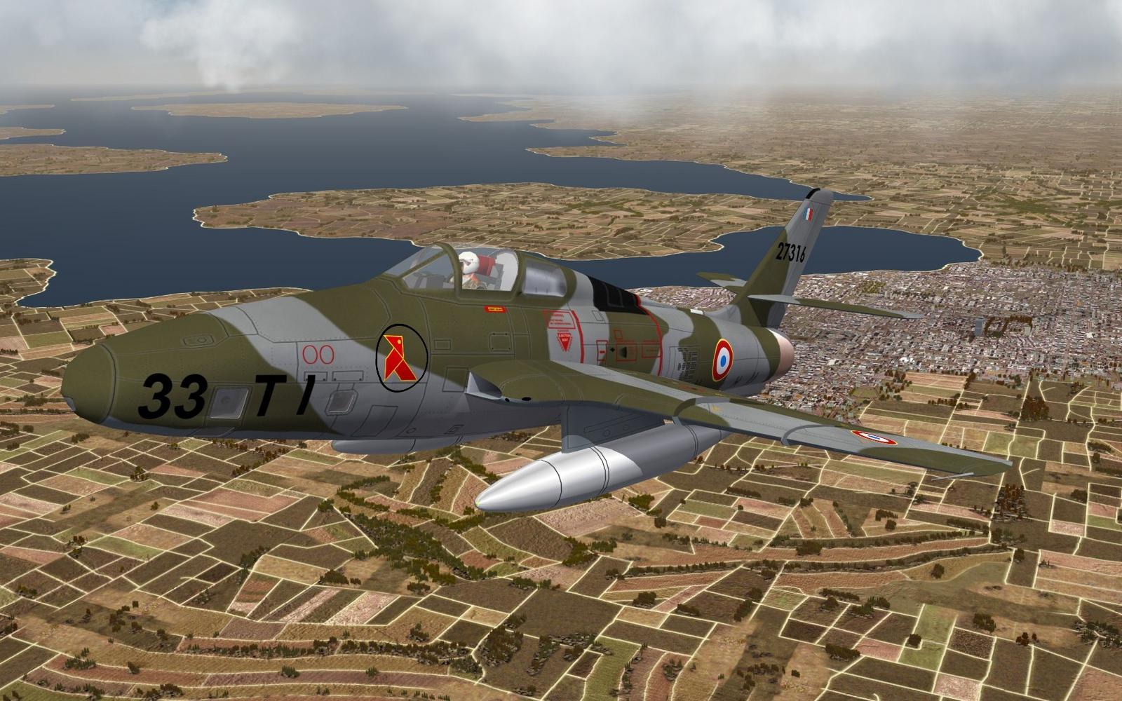 """RF-84F - ER 3/33 """"Moselle"""" - ca. 1962"""