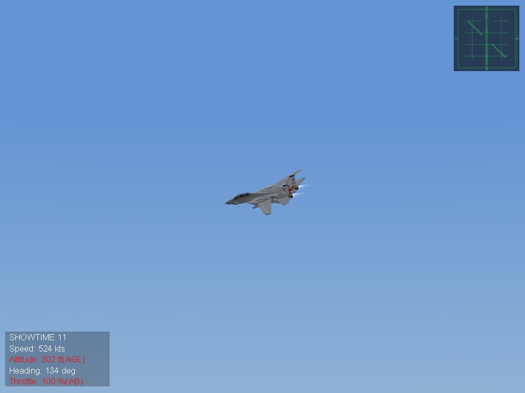 F 14 Buzz the Tower