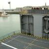 (008) Stern elevator to Helos hangar