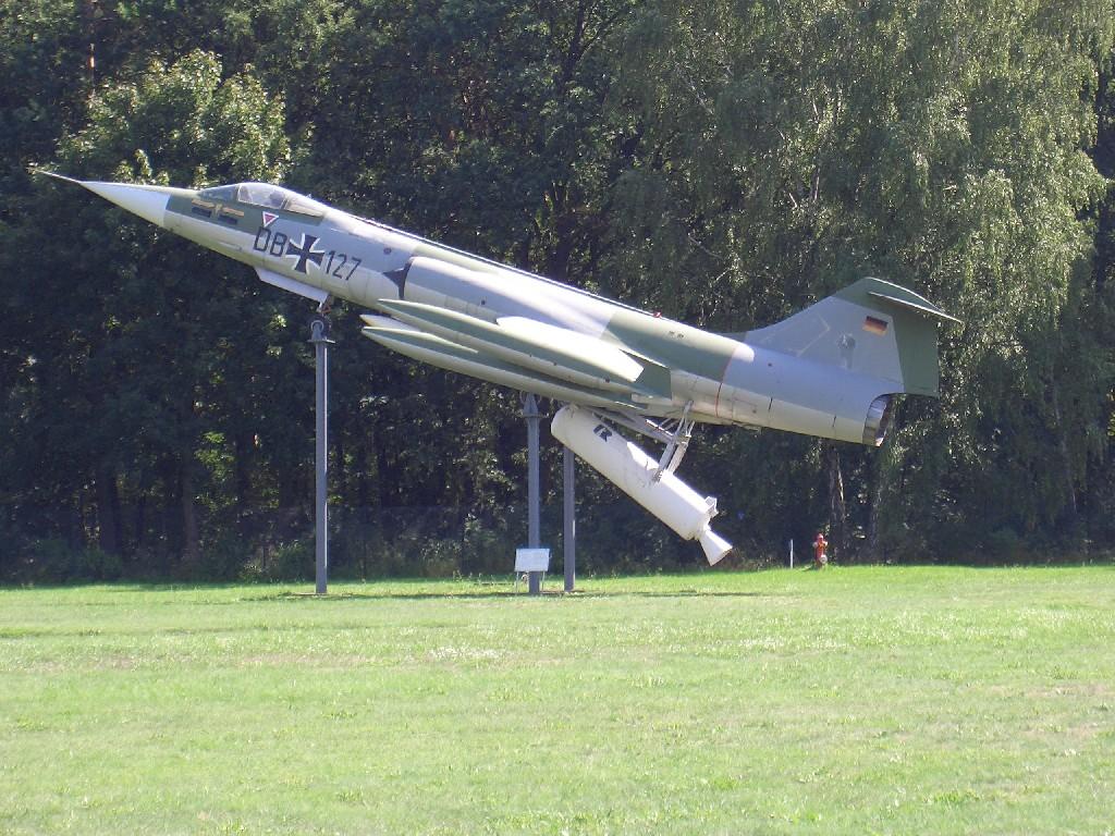 Luftwaffenmuseum Berlin Gatow F-104G