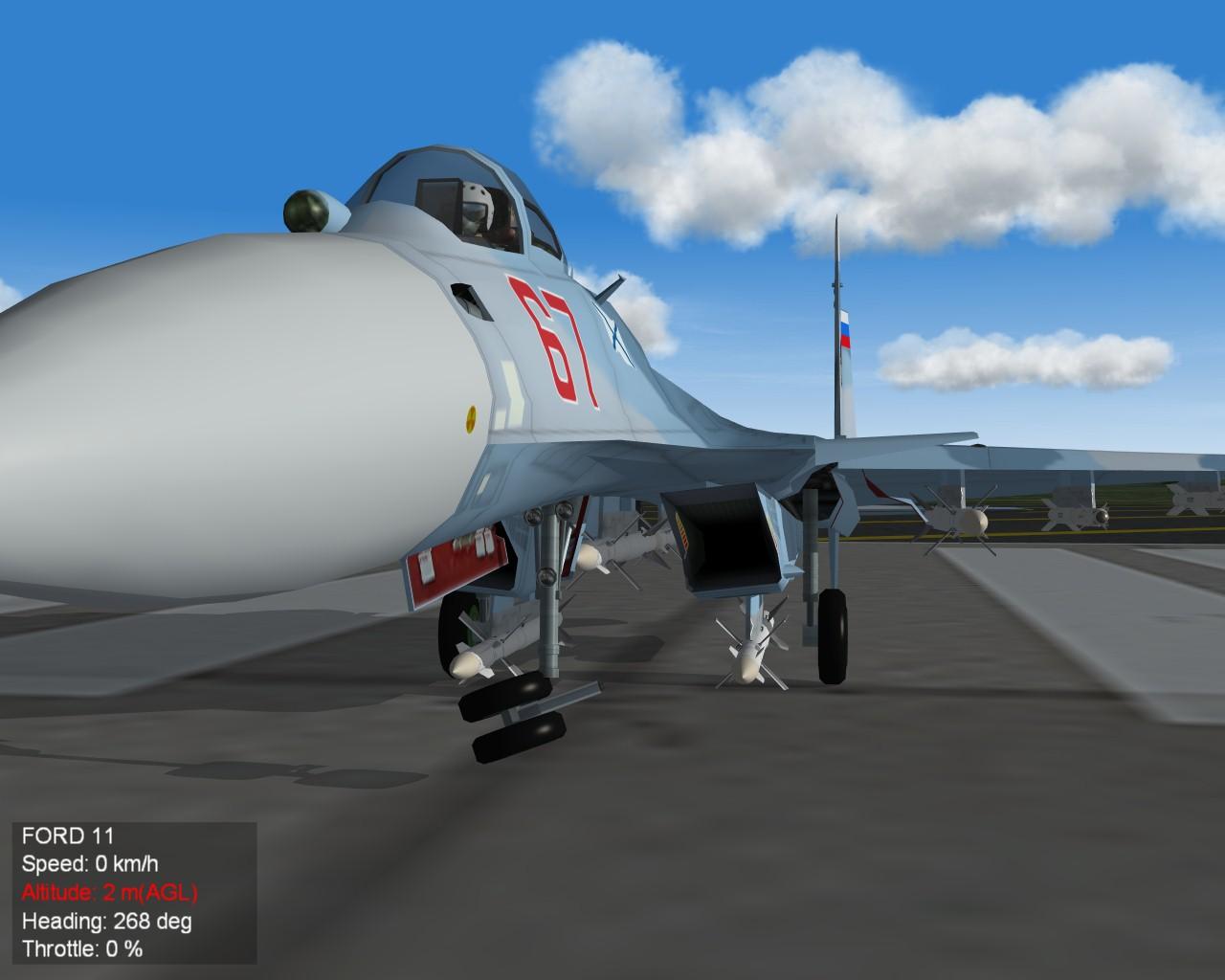 Su-33 gear 3