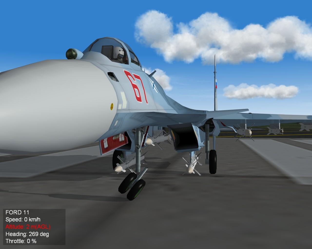Su-33 gear 2
