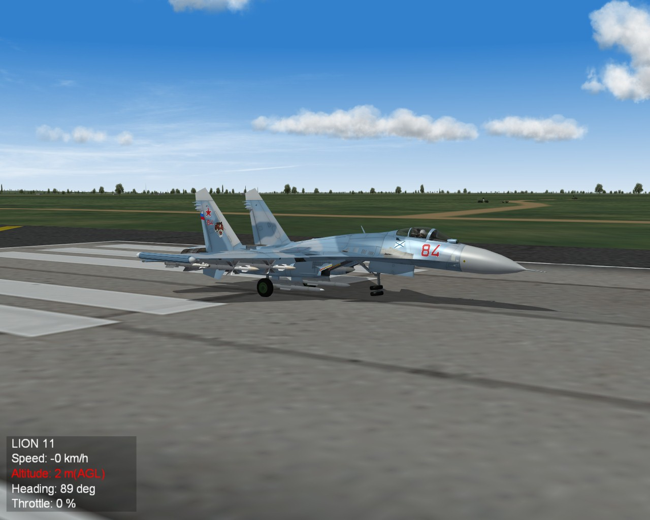 Su-33 front gear issue