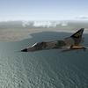 Mirage III over mediterranean sea_1