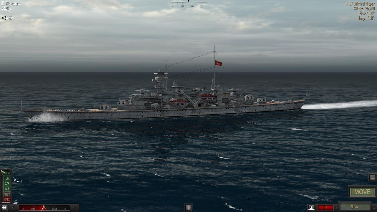 Atlantic Fleet - Hipper class cruiser
