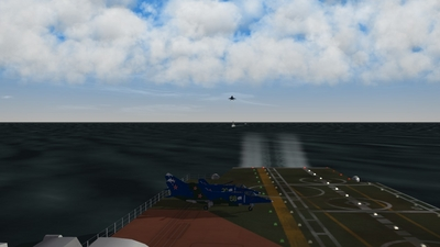 On Approach...