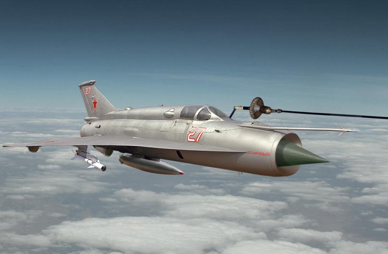 MiG 21 I fuel Up