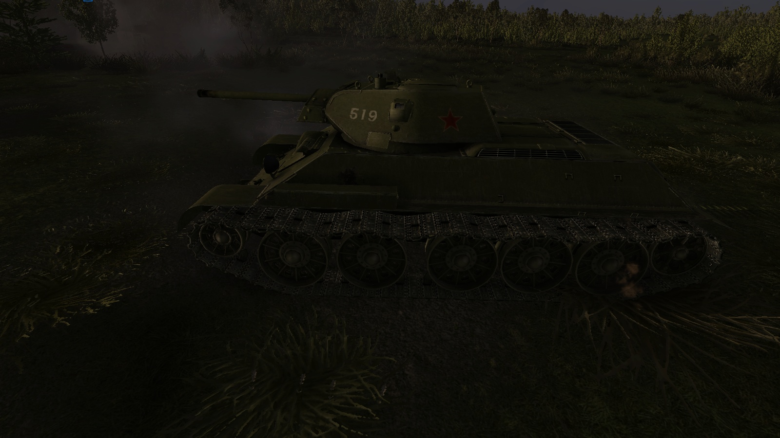 GT:OS - knocked out T-34