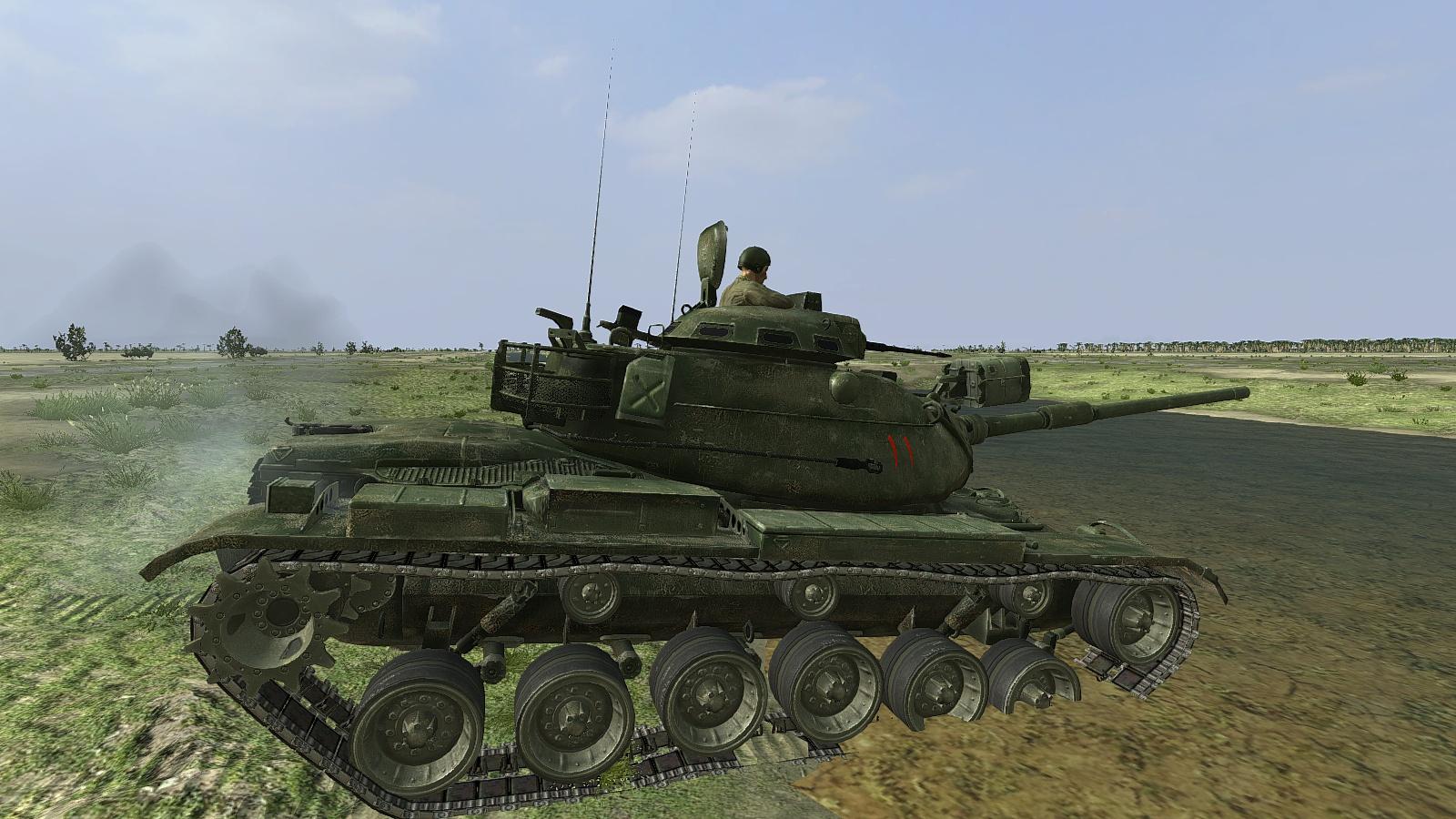 Steel Armor Blaze of War/SABOW - Iranian M60A1