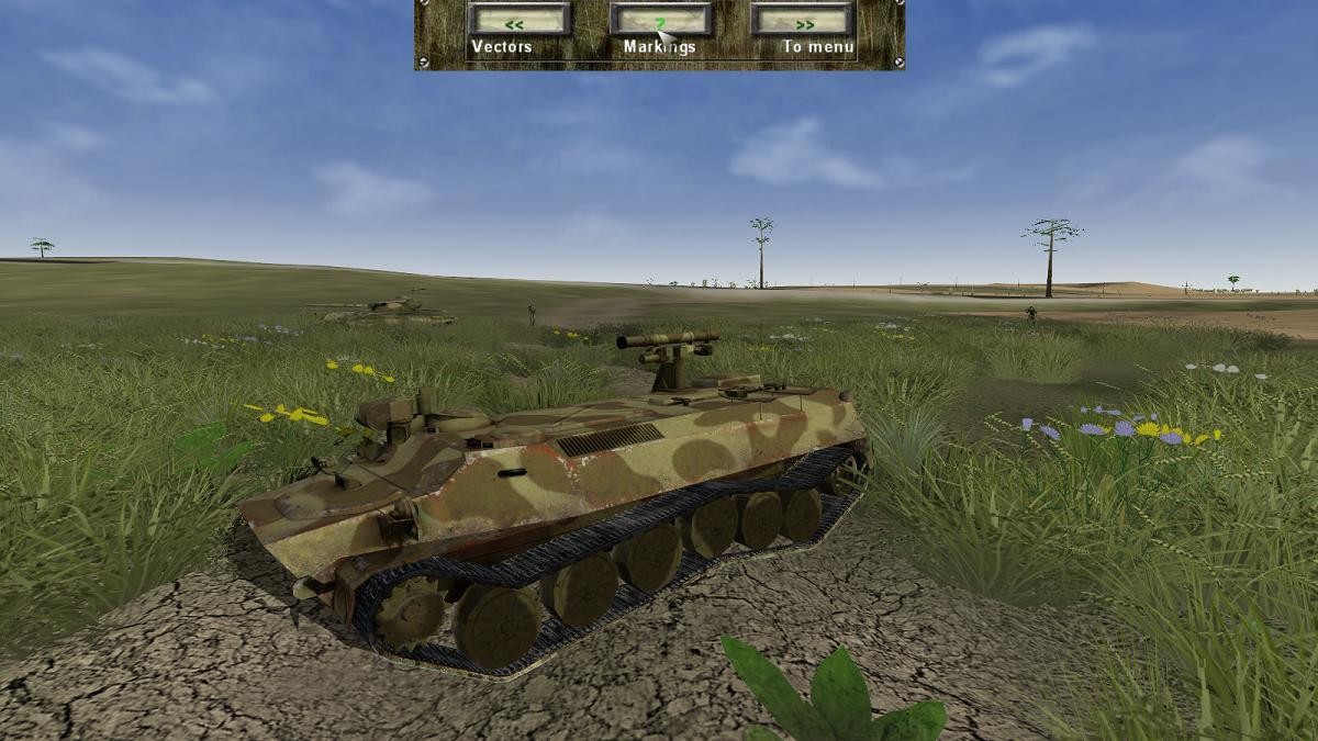 Iron Warriors Balkans on Fire - MTLB Shturm-S ATGW