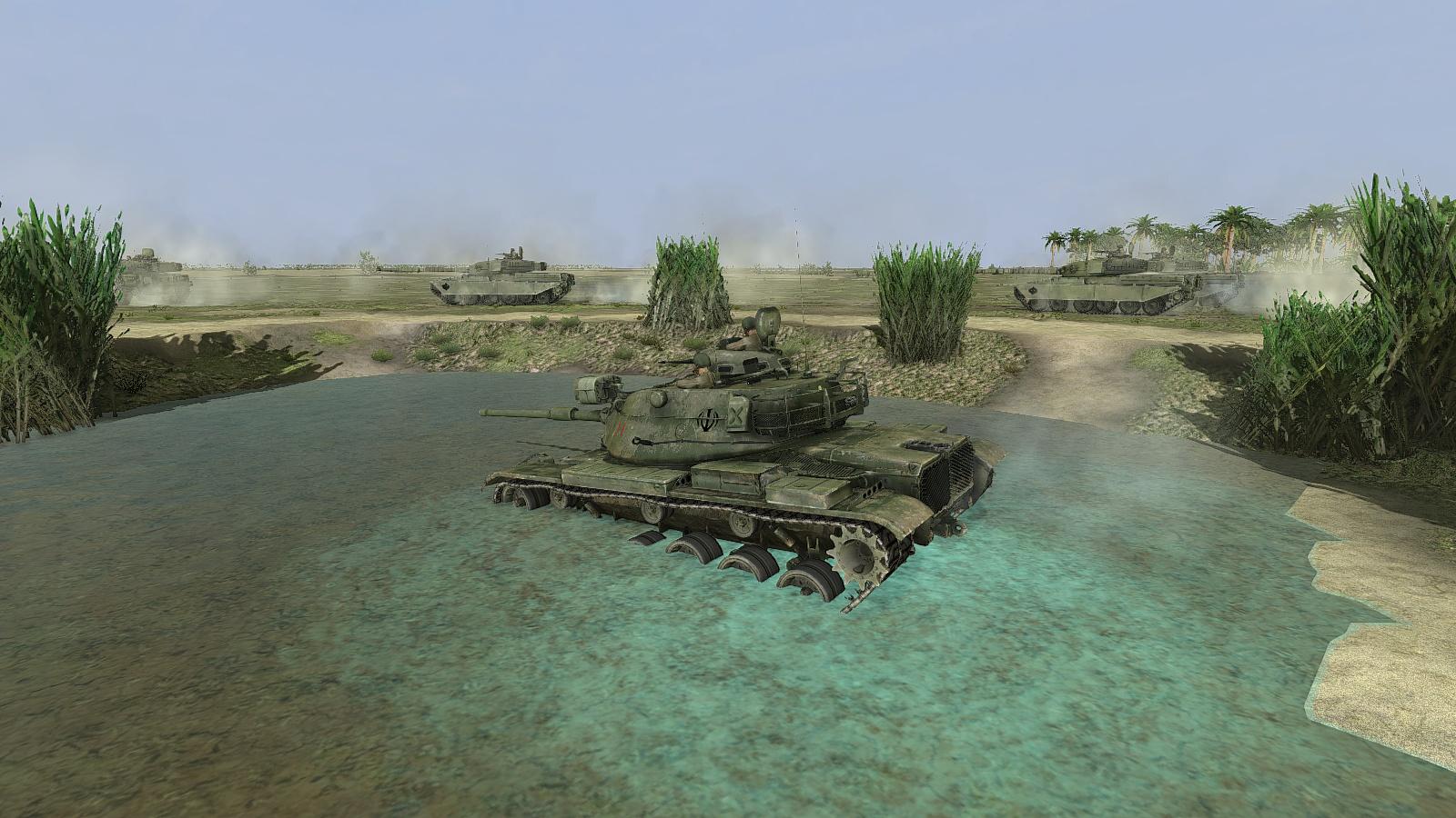 Steel Armor Blaze of War - M60 & Chieftains