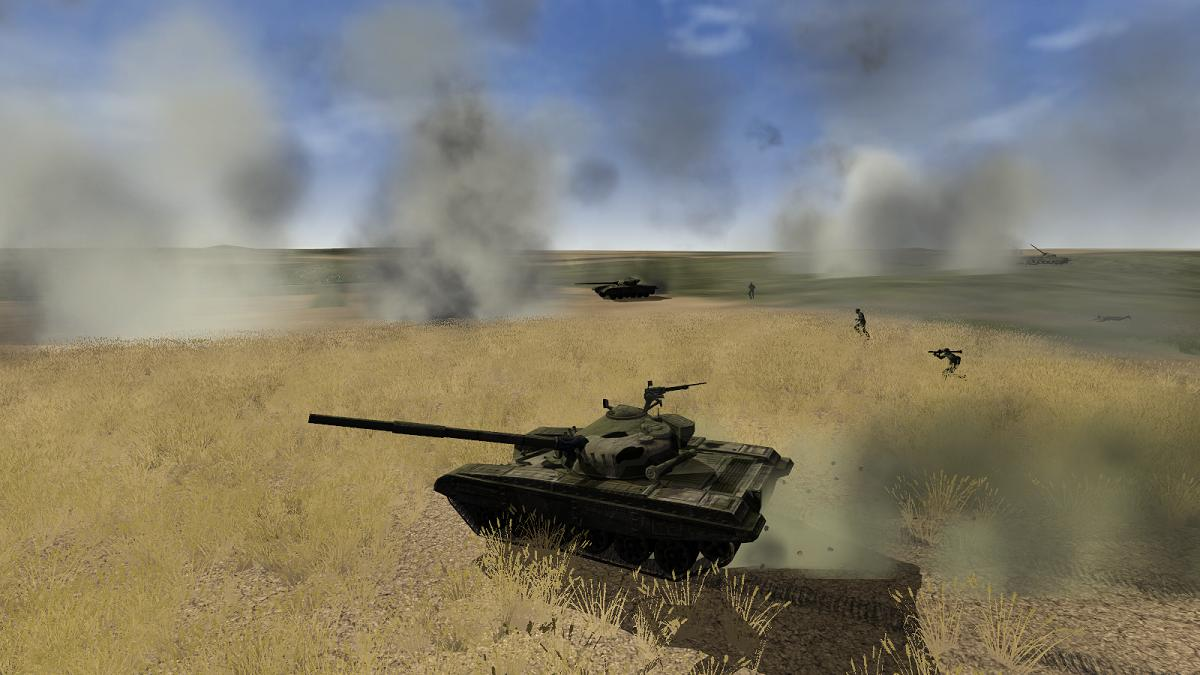 Iron Warriors Balkans on Fire - T-72