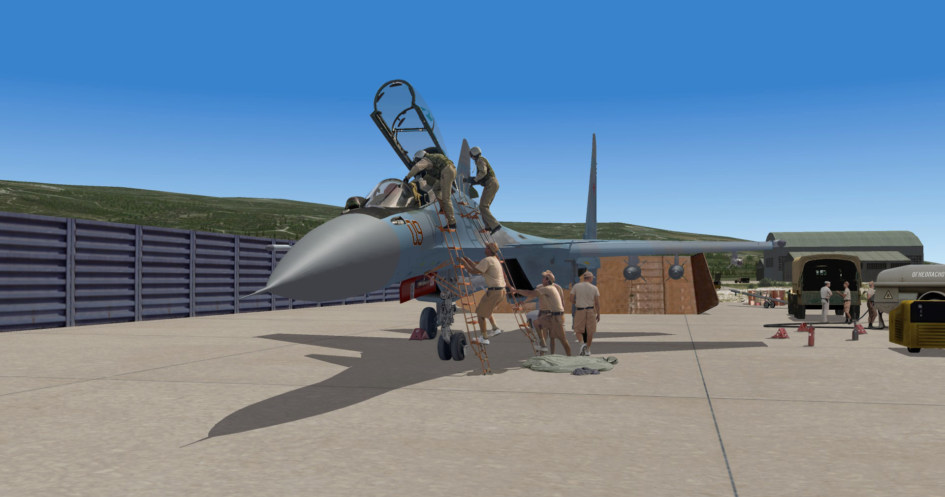 2014 Crew taking place in this SU30 for a new strike mission
